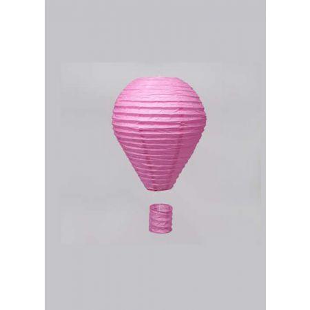 Διακοσμητικό κρεμαστό αερόστατο Ροζ, 25cm