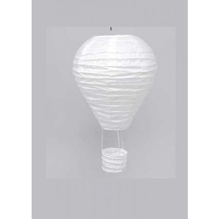 Διακοσμητικό κρεμαστό αερόστατο Λευκό, 40cm