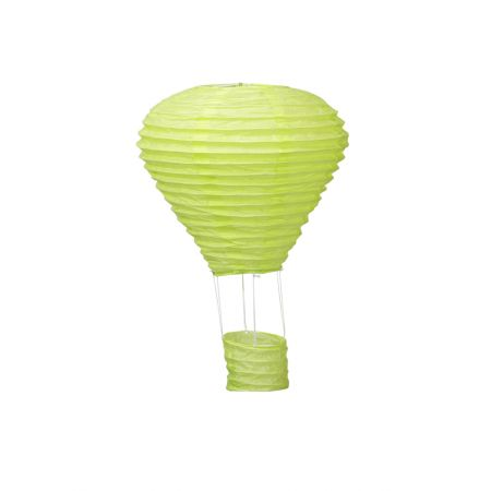 Διακοσμητικό κρεμαστό αερόστατο Πράσινο ανοιχτό, 40cm