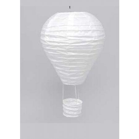 XL Διακοσμητικό κρεμαστό αερόστατο, Λευκό 85cm