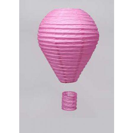 XL Διακοσμητικό κρεμαστό αερόστατο Ροζ, 85cm