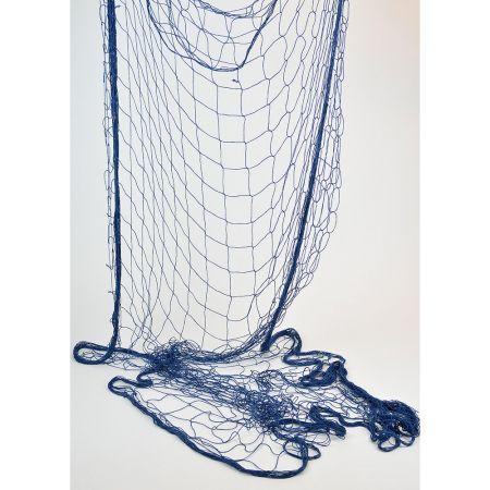 Διακοσμητικό δίχτυ ψαρέματος λεπτό Μπλε 200x400cm