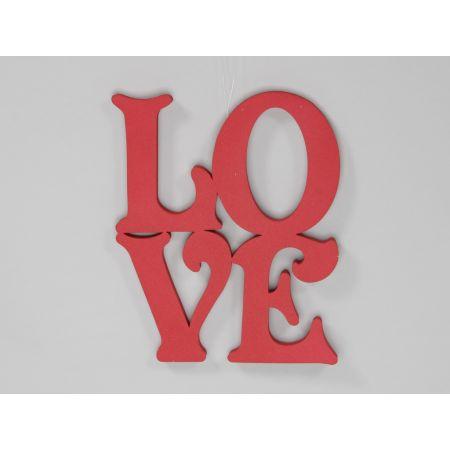 Διακοσμητικά γράμματα LOVE 40x40 cm