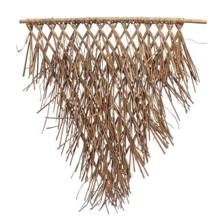 Διακοσμητικό Πλέγμα - Πάνελ από φοινικόφυλλα 75x85cm
