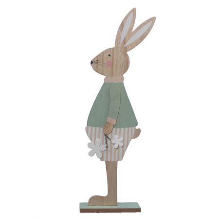 Φιγούρα Κουνελάκι Αγόρι Ξύλινο , 61cm