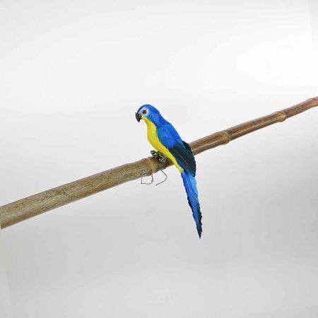 Διακοσμητικός Παπαγάλος Μπλε 25cm