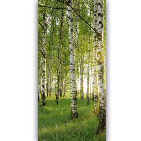 Διακοσμητική ανοιξιάτικη αφίσα με δάσος 90x180cm