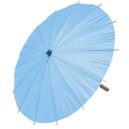 Διακοσμητική ομπρέλα χάρτινη Μπλε 40cm