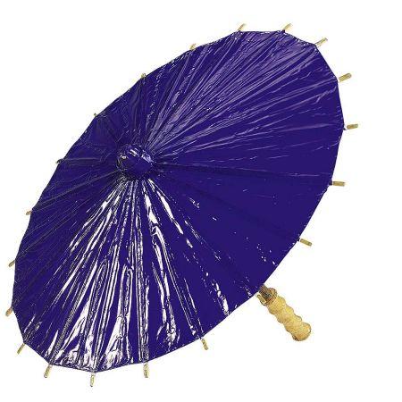 Διακοσμητική ομπρέλα χάρτινη Μωβ 40cm
