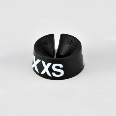 XXS Σετ 25τμχ Νουμεροδείκτες Μαύρο/Λευκά γράμματα
