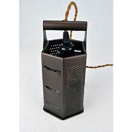 Κρεμαστό φωτιστικό τρίφτης με 6 πλευρές 23cm