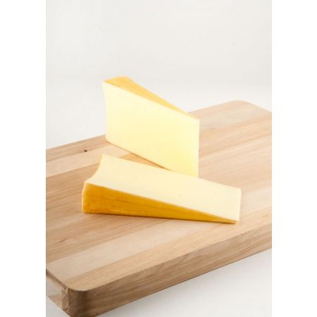 Σετ 2τχ διακοσμητικά κομμάτια τυριού φοντίνα απομίμηση 16x8cm