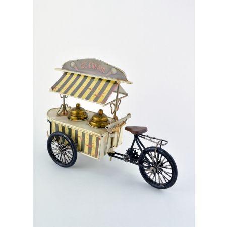 Διακοσμητικό mini καρότσι παγωτού 30cm