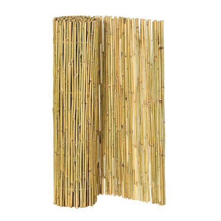 Διακοσμητική καλαμωτή - μπαμπού μασίφ 150x300cm , 14-16mm