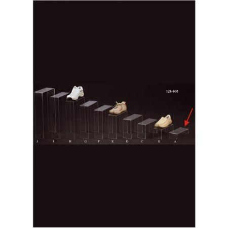 Σταντ Plexiglass για παπούτσια 16x9.5x5cm