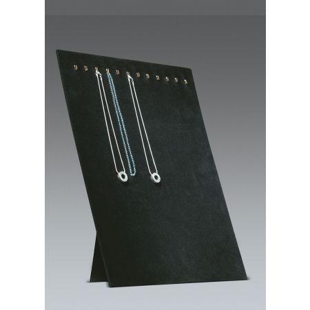 Σταντ παρουσίασης για κολιέ 39x30cm-Μαύρο Βελούδο