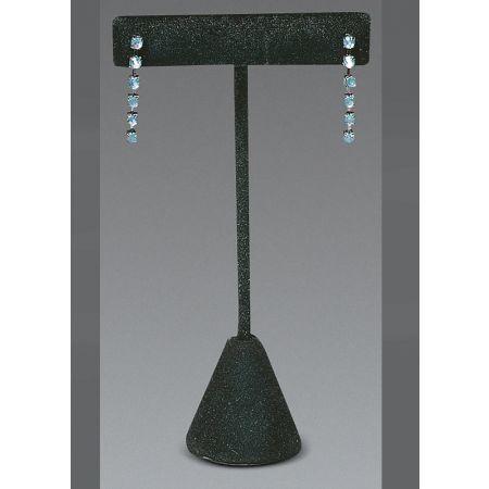 Σταντ παρουσιαστής για σκουλαρίκια 12cm-Μαύρο Βελούδο
