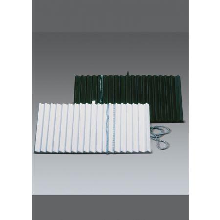 Δίσκος παρουσίασης για κολιέ και βραχιόλια 36x20x2.5cm-Λευκό