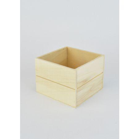 Διακοσμητικό Κουτί Ξύλινο 11x11x8cm