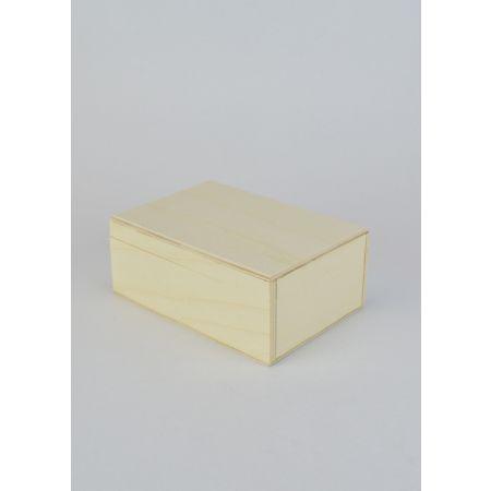 Διακοσμητικό Κουτί Ξύλινο 15x10x6cm