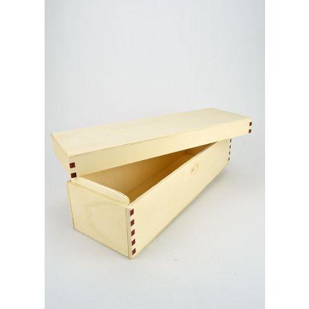 Διακοσμητικό Κουτί Ξύλινο 34x11x10.5cm