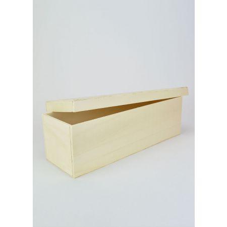 Διακοσμητικό Κουτί Ξύλινο 35.2x12x10.5cm