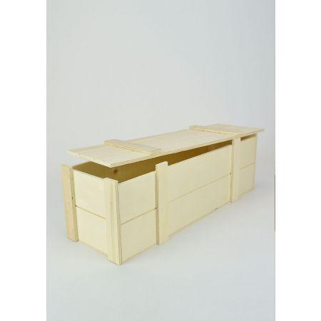 Διακοσμητικό Κουτί Ξύλινο 34.2x11x11cm