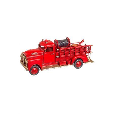 Διακοσμητικό πυροσβεστικό όχημα 11x31x11cm