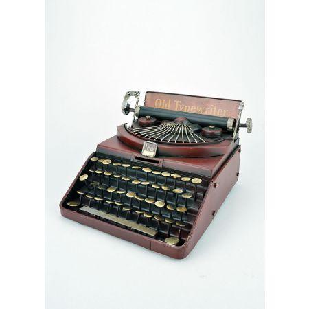 Διακοσμητική Γραφομηχανή Κόκκινη 21x22.5x13.5cm