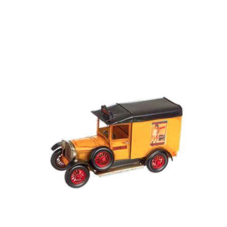 Διακοσμητικό Φορτηγό Κίτρινο 30x13x16.5cm