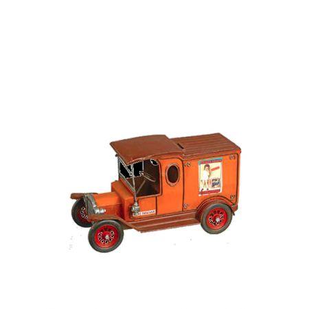 Διακοσμητικό Φορτηγό Πορτοκαλί 30x13x16.5cm