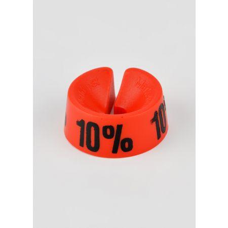 10% Σετ 25τμχ Σήμανση Προσφορών Κόκκινο-Μαύρο