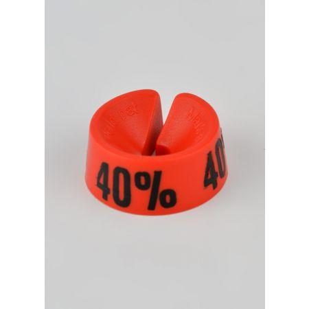 40% Σετ 25τμχ Σήμανση Προσφορών Κόκκινο-Μαύρο