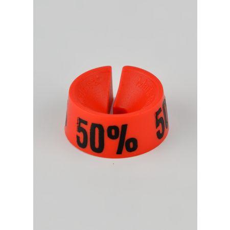 50% Σετ 25τμχ Σήμανση Προσφορών Κόκκινο-Μαύρο