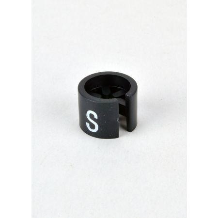 S Σετ 100τμχ Νουμεροδείκτες mini Μαύρο/Λευκά γράμματα