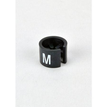 M Σετ 100τμχ Νουμεροδείκτες mini Μαύρο/Λευκά γράμματα