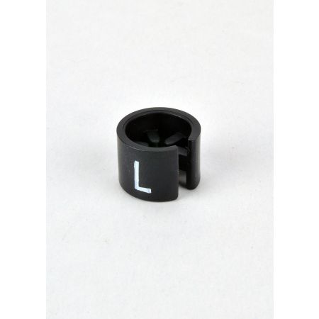 L Σετ 100τμχ Νουμεροδείκτες mini Μαύρο/Λευκά γράμματα