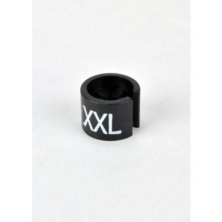 XXL Σετ 100τμχ Νουμεροδείκτες mini Μαύρο/Λευκά γράμματα