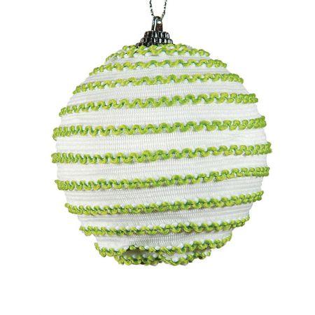 Διακοσμητική Χριστουγεννιάτικη μπάλα, 10 cm