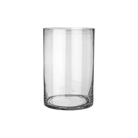 Διακοσμητικό γυάλινο βάζο 19.5x29.5cm