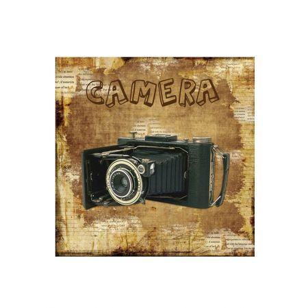 Διακοσμητικός Καμβάς Camera 40x40cm