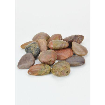 Συσκευασία 1kg φυσικές πέτρες ποταμού 3-5cm