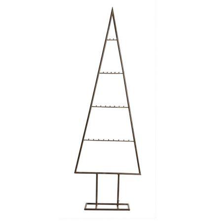 Μεταλλικό Χριστουγεννιάτικο δέντρο - σταντ - όψη σκουριάς 180cm
