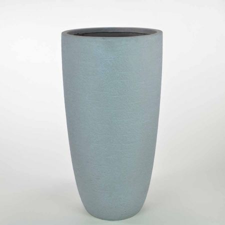 XL κυλινδρικό βάζο Γκρι 41x78,5cm
