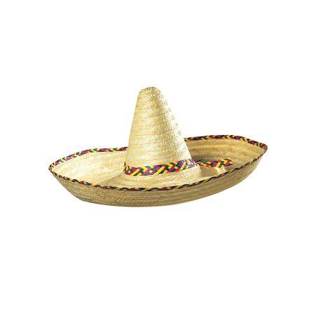 Ψάθινο καπέλο Sombrero 65cm