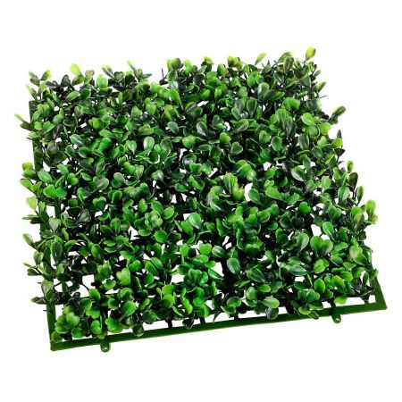 Διακοσμητικό πλακάκι από φυτό πυξάρι 25x25cm