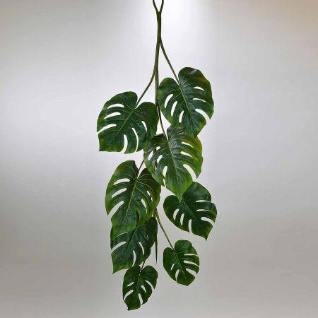 Διακοσμητική Γιρλάντα με φύλλα Μονστέρα 120cm