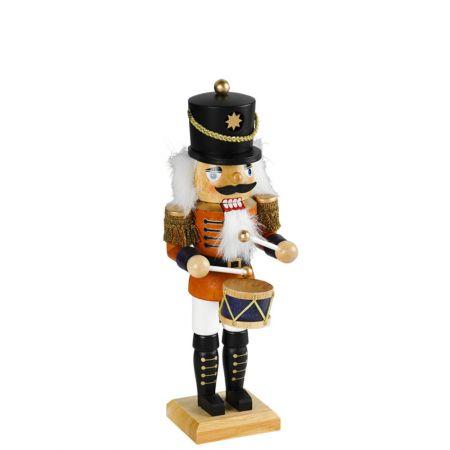 Διακοσμητικός Μολυβένιος Στρατιώτης - Καρυοθραύστης, 34cm