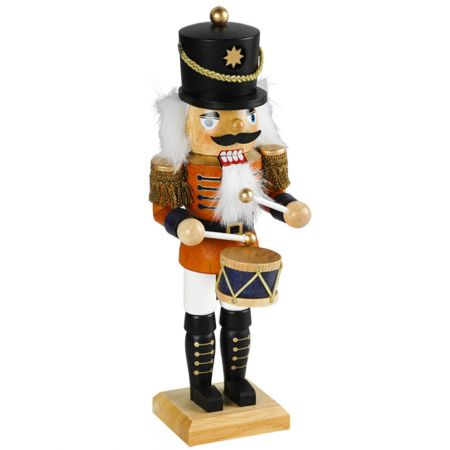 Διακοσμητικός Μολυβένιος Στρατιώτης - Καρυοθραύστης, 45cm