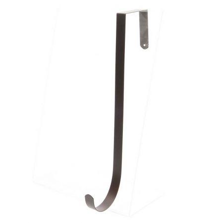 Μεταλλικός Γάντζος για στήριξη στεφανιού σε πόρτα 11x1,6x28cm